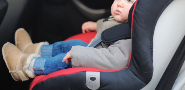 No jackets in baby seat
