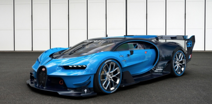 New Bugatti Chiron