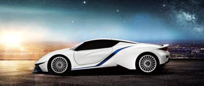 BAIC Arcfox-7 a Chinese electric super car
