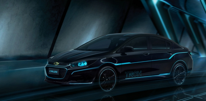 TRON insipred Chevy Cruze